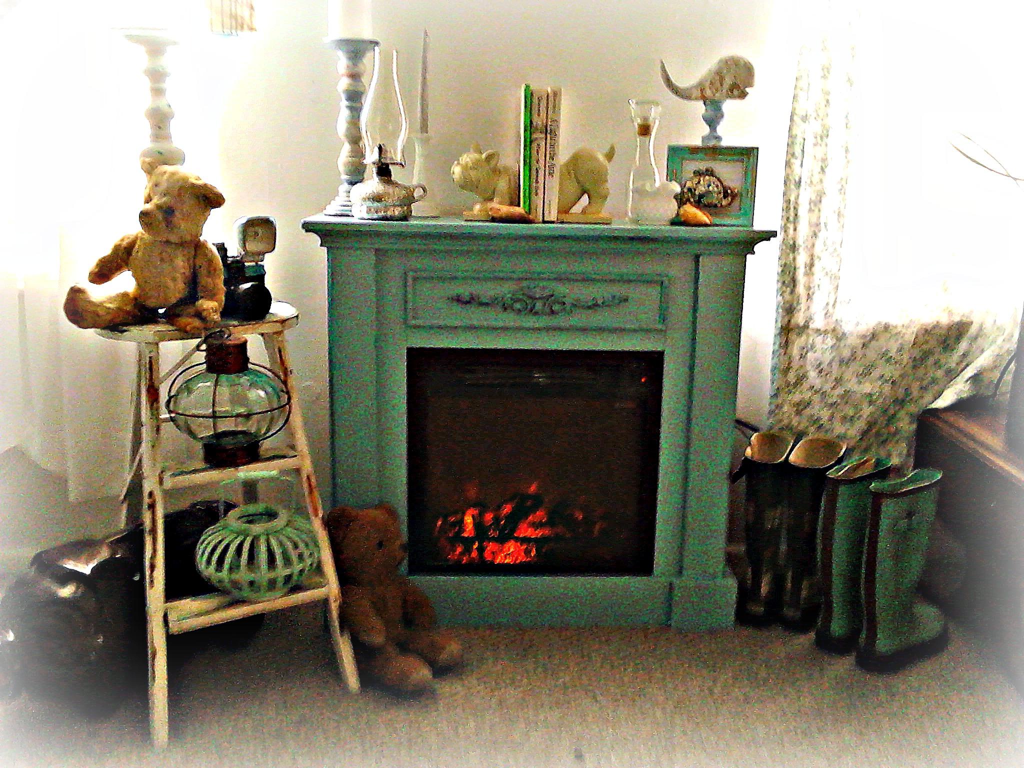Fireplace Redo Vintage Key West