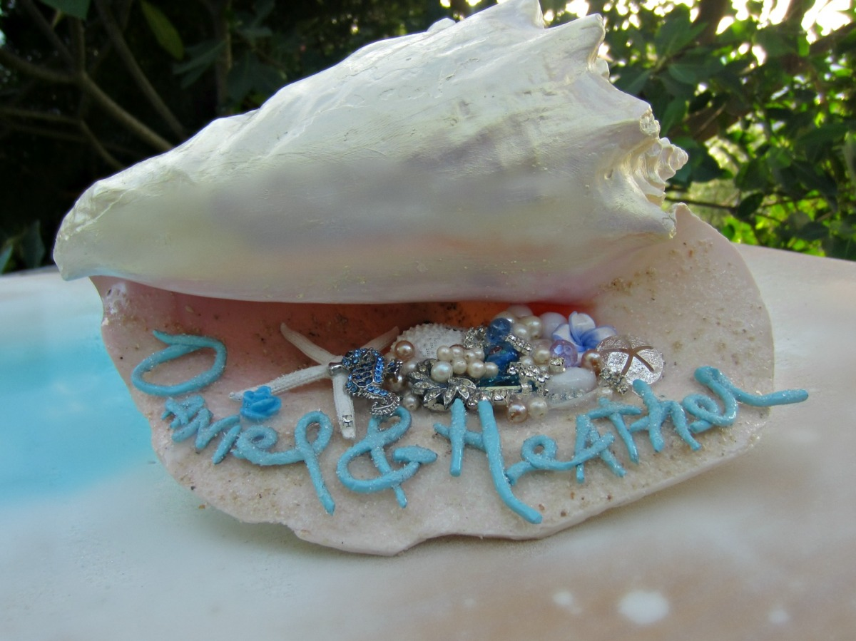 The Wedding Conch Shell, how-to