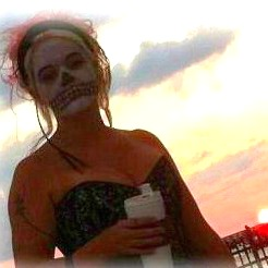 me at Higg's Beach