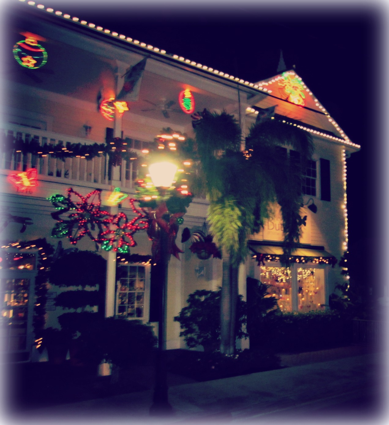 Cozy Key West Home House Tour: Conch Tour Train Holiday Lights Tour