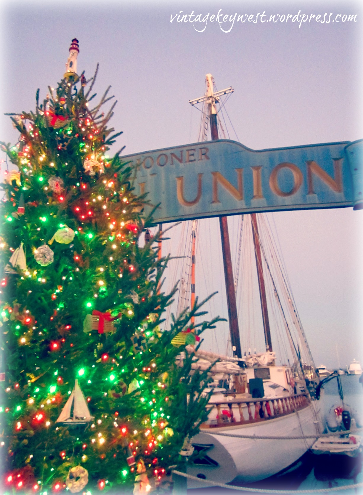 Key West Christmas, Lights in the Bight – Vintage Key West