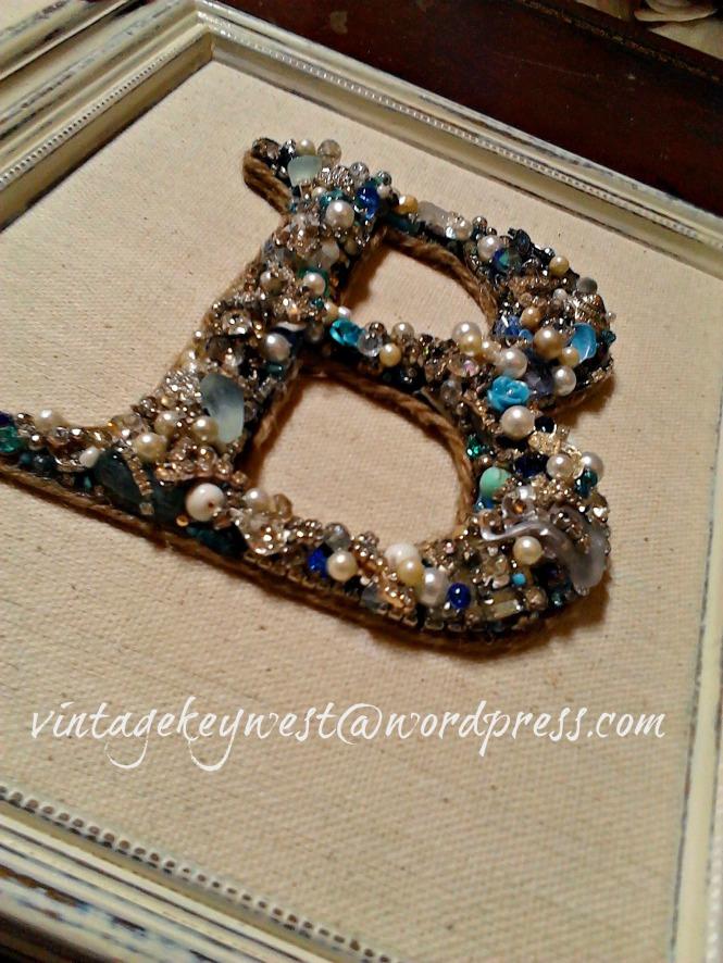custom letter b